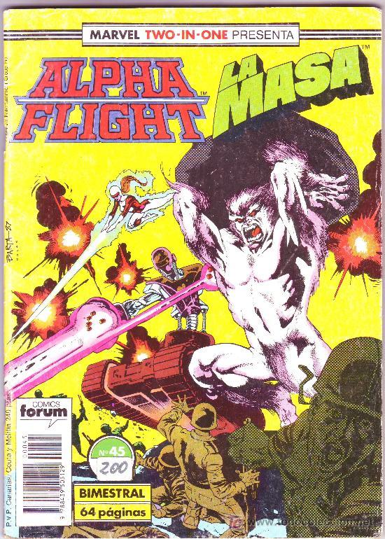 ALPHA FLIGHT LA MASA N45 (Tebeos y Comics - Forum - Alpha Flight)