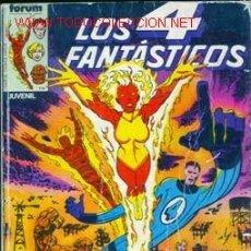 Cómics: 'LOS 4 FANTÁSTICOS', NÚMEROS 21 A 25. ENCUADERNADOS. 1984. CON ENTREVISTA Y PÓSTER DE JOHN BYRNE.. Lote 21573338