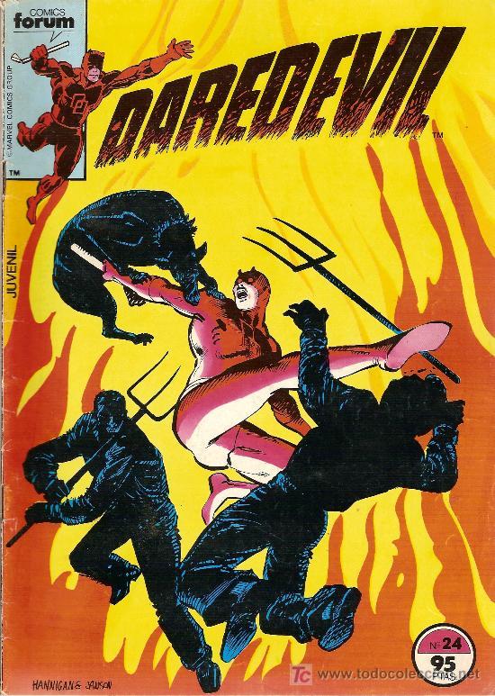 'DAREDEVIL', Nº 18, FÓRUM. 1ª SERIE. 1984. (Tebeos y Comics - Forum - Daredevil)