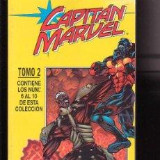 Cómics: CAPITAN MARVEL - TOMO Nº 2 RECOPILATORIO CON CINCO NUMEROS 6 AL 10. Lote 8579623