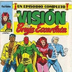 Cómics: LA VISIÓN Y LA BRUJA ESCARLATA Nº 9. Lote 22302524