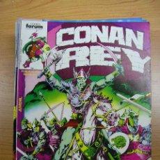 Cómics: CONAN REY, NºS 16 A 20, EDICIONES FORUM.. Lote 4017814