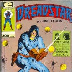Cómics: DREADSTAR POR JIM STARLIN NUMERO 1 A 5 1ª EDICION. Lote 26579337