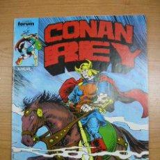 Cómics: CONAN REY, Nº 55, FORUM, AÑO 1988. Lote 4107341