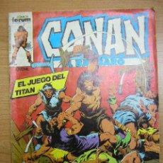 Cómics: CONAN, Nº 46, FORUM, 1983. Lote 4113937