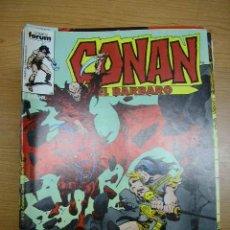 Cómics: CONAN, Nº 107, FORUM, AÑO 1986. Lote 4114189