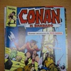 Cómics: CONAN, Nº 108, FORUM, AÑO 1986. Lote 4114201