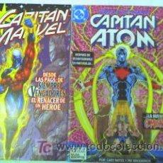 Cómics: CAPITAN MARVEL Nº 1 MAS CAPITAN ATOM Nº 1..............DIFICILES. Lote 24052817