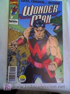 NUMERO UNO DE WONDER MAN ..............UN LUJO DE COMIC EDITADO EN EL 1992 (Tebeos y Comics - Forum - Otros Forum)