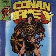 Cómics: CONAN EL REY - Nº 36 - FORUM 1987. Lote 4542719