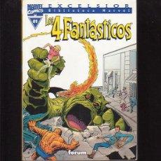 Cómics: LOS 4 FANTASTICOS - Nº 01 - EXCELSIOR BIBLIOTECA MARVEL. Lote 4741868