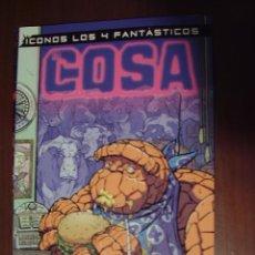 Cómics: ICONOS LOS 4 FANTÁSTICOS. LA COSA. FORUM. Lote 25838698