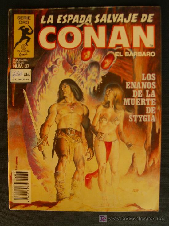 LA ESPADA SALVAJE DE CONAN. NUMERO 37 CJ 27 (Tebeos y Comics - Forum - Conan)