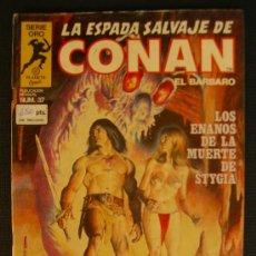 Cómics: LA ESPADA SALVAJE DE CONAN. NUMERO 37 CJ 27. Lote 5899908