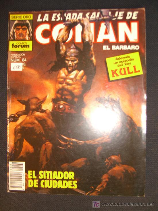 LA ESPADA SALVAJE DE CONAN. NUMERO 84 CJ 27 (Tebeos y Comics - Forum - Conan)