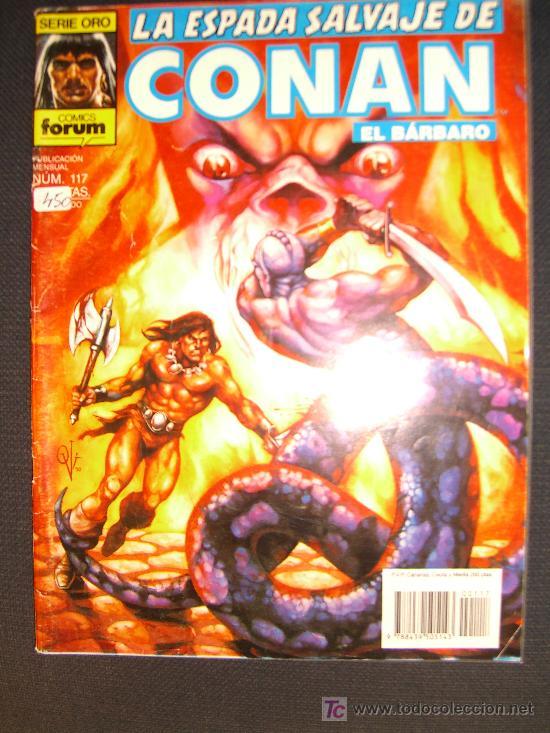 LA ESPADA SALVAJE DE CONAN. NUMERO 117 CJ 27 (Tebeos y Comics - Forum - Conan)