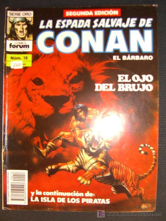 LA ESPADA SALVAJE DE CONAN.SEGUNDA EDICION.NUMERO 18 CJ 27 (Tebeos y Comics - Forum - Conan)