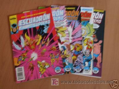 ESCUADRON SUPREMO ( 5 NUMEROS ) (Tebeos y Comics - Forum - Otros Forum)