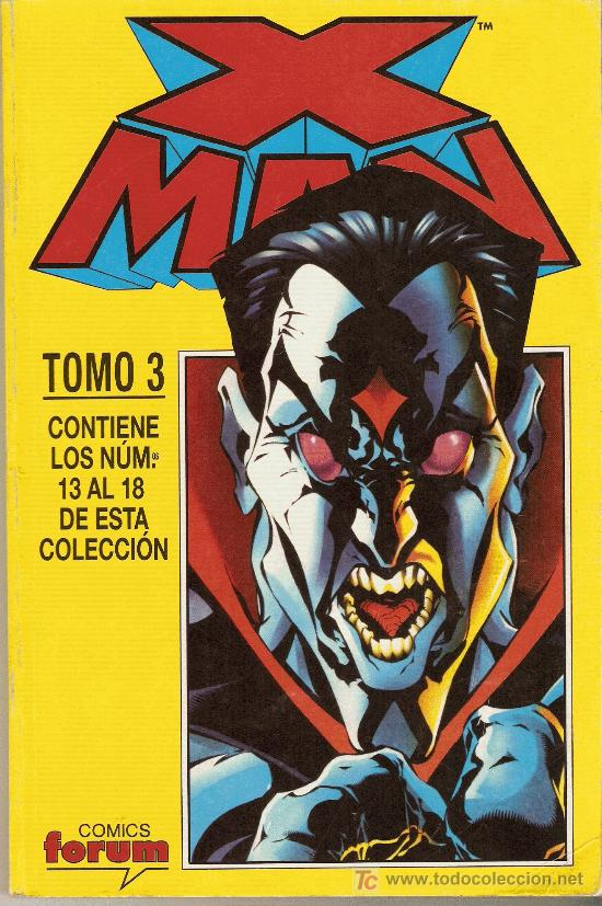 X MAN VOL. II . TOMO 3 - RETAPADO (NÚMEROS 13 AL 18) - FORUM - PLANETA DEAGOSTINI - 1997 (Tebeos y Comics - Forum - Retapados)