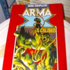 Cómics: RETAPADO ARMA X - X CALIBRE. OBRA COMPLETA. Lote 27301366