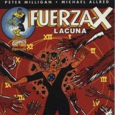 Cómics: FUERZA-X: LA CUNA - FORUM 2002 (PETER MILLIGAN - MICHAEL ALLRED). Lote 12142705