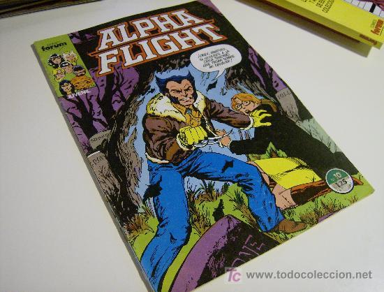 ALPHA FLIGHT VOL.I Nº 10. FORUM, 1986. (Tebeos y Comics - Forum - Alpha Flight)