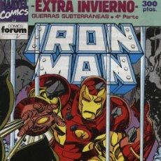 Cómics: IRON MAN - EXTRA INVIERNO (GUERRAS SUBTERRÁNEAS 4ª PARTE) - FORUM 1992. Lote 5301652