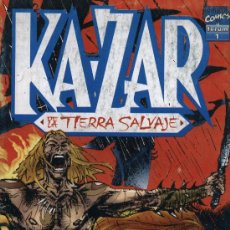 Cómics: KA-ZAR: DE LA TIERRA SALVAJE - Nº 1 - FORUM 1996. Lote 5315738