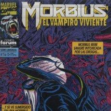 Cómics: MORBIUS: EL VAMPIRO VIVIENTE - Nº 7 (DE 12) - ED. FORUM 1993. Lote 221654787