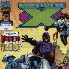 Cómics: MUTANTE- X: VOLUMEN I - Nº 10 - ED FORUM 1999. Lote 5416797