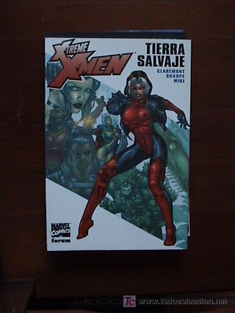 XTREME X-MEN. TIERRA SALVAJE. CLAREMONTO, SHARPE Y MIKI. (Tebeos y Comics - Forum - X-Men)