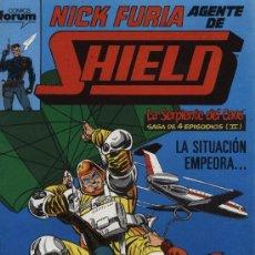 Cómics: NICK FURIA AGENTE DE SHIELD - Nº 8 - ED. FORUM 1990. Lote 5424659