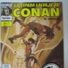 Cómics: LA ESPADA SALVAJE DE CONAN (120 NUMEROS) SEMI COMPLETA. Lote 27270895