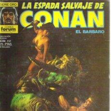 Cómics: CONAN LA ESPADA SALVAJES NUMERO 112 - LA ESPADA DEL DEMONIO ASESINO. Lote 5827797