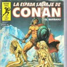 Cómics: LA ESPADA SALVAJE DE CONAN - EL DIOS RESUCITADO N45. Lote 5859670