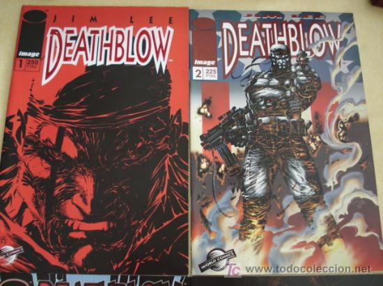 Cómics: Lote de los 4 primeros nº de DEATHBLOW, en español. Por Jim Lee por Image.. - Foto 2 - 26746582