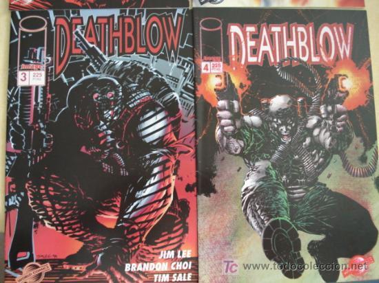 Cómics: Lote de los 4 primeros nº de DEATHBLOW, en español. Por Jim Lee por Image.. - Foto 3 - 26746582