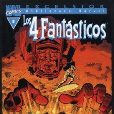 Cómics: BIBLIOTECA MARVEL LOS CUATRO FANTASTICOS Nº 5. Lote 27104292