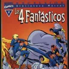 Cómics: BIBLIOTECA MARVEL LOS CUATRO FANTASTICOS Nº 2. Lote 27128523