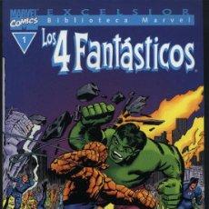 Cómics: BIBLIOTECA MARVEL LOS CUATRO FANTASTICOS Nº 1. Lote 27104287