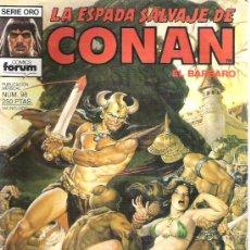 Cómics: LA ESPADA SALVAJE DE CONAN -EL DIOS ASTADO NUMERO 98 PRIMERA EDICION. Lote 6078687