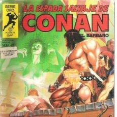 Cómics: LA ESPADA SALVAJE DE CONAN - LA SIRENA NUMERAO 42 PRIMERA EDICION. Lote 6078694