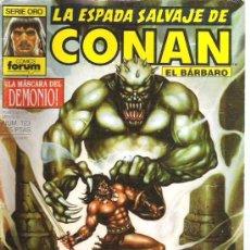 Cómics: LA ESPADA SALVAJE DE CONAN - LA MASCARA DEL DEMONICO NUM 123 - PRIMERA EDICION. Lote 6078812