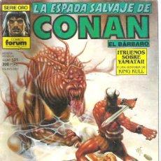 Cómics: LA ESPADA SALVAJE DE CONAN - TRUENOS SOBRE YAMATAI NUM131 PRIMERA EDICION. Lote 6078823