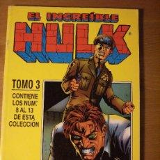 Cómics: HULK VOL.II RETAPADO NÚMEROS 8 AL 13. FORUM, 1996.. Lote 6268227