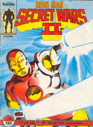 IRON MAN Nº 17 / SECRET WARS II / 1986 (Tebeos y Comics - Forum - Iron Man)