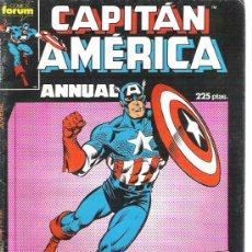 Cómics: CAPITAN AMERICA -ANNUAL - ESPECIAL PRIMAVERA -- EL ULTIMO HECHIZO 68 PAG. Lote 13052191