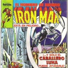 Cómics: IRON MAN - Y SOLO EL CABALLERO LUNA PUEDE AYUDARLE - NUM16 1986. Lote 6413466