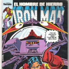 Cómics: IRON MAN - EL GRITO DE HIERRO - NUM 21 1986. Lote 6413481