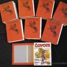 Cómics: EL COYOTE 8 TOMOS EDICIONES FORUM J.MALLORQUI. Lote 24779444